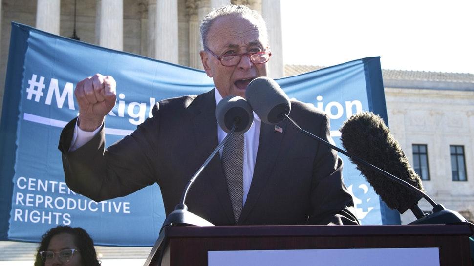 Chuck Schumer Threatens Supreme Court Justices!
