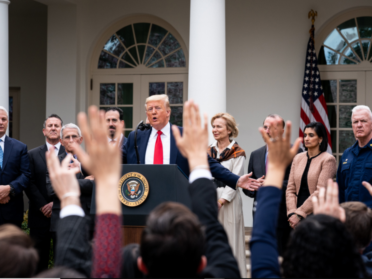 Trump Invokes Stafford Act as Part of Corona Relief Efforts