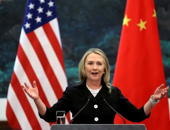 Hillary Clinton and China unite against President Trump
