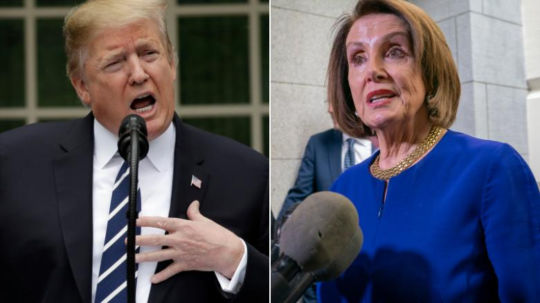 Trump Strikes Back Attacking Pelosi for Her Impeachment Obsession