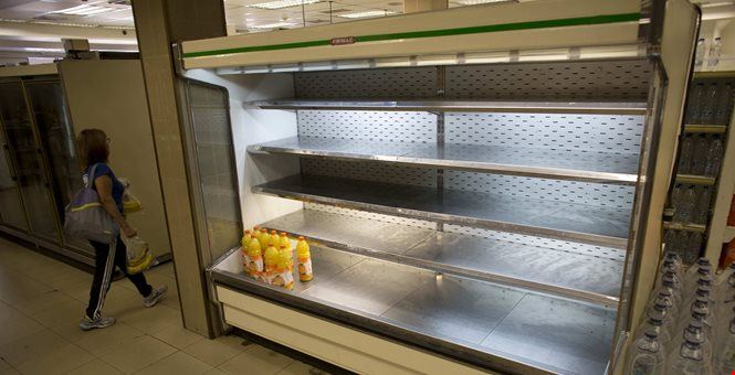 Here's Why Grocery Store Shelves Are Empty
