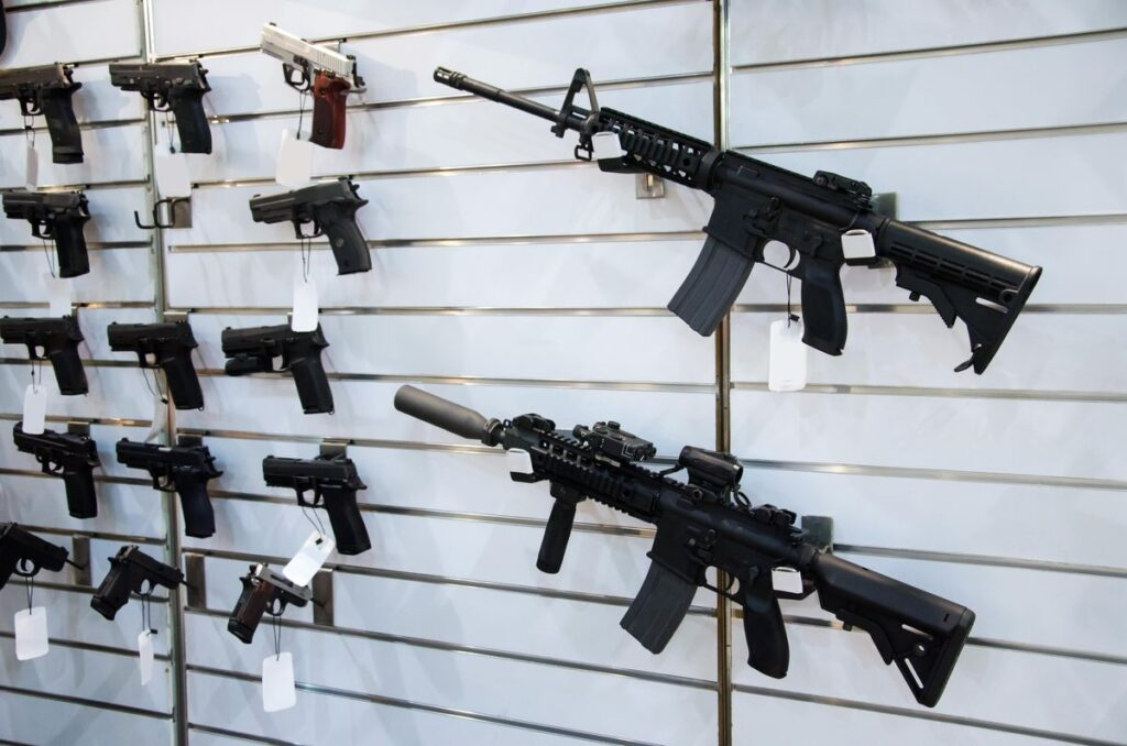 Department of Homeland Security says gun stores should stay open!