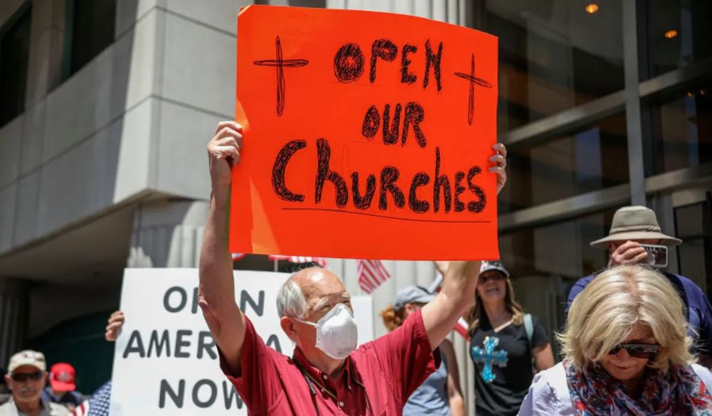 DOJ sends warning to California Gov. Gavin Newsom: Stop discriminating against churches