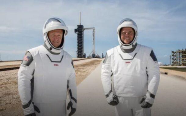 Bad weather postpones historic SpaceX Crew Dragon launch
