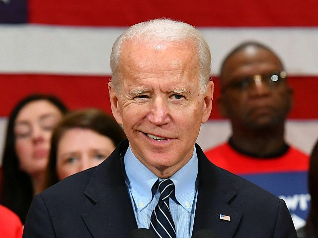 Joe Biden Campaign Hides Staff Diversity Data, Demands More Transparency from Trump Admin