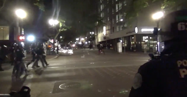 Antifa Creates Autonomous Zone in Portland after Dem Officials' Feckless Response to Weeks of Attacks