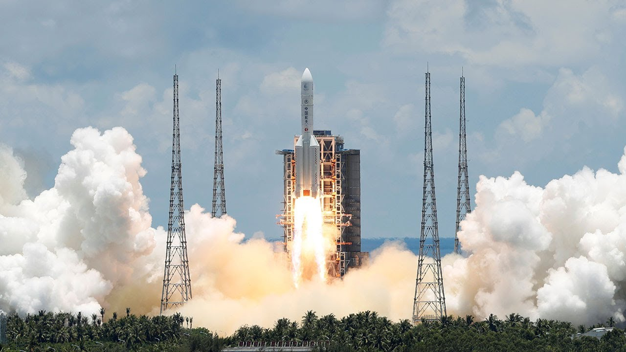 China launches ambitious Mars mission