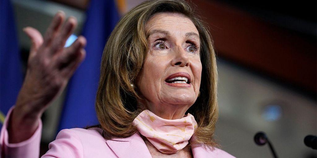 Nancy Pelosi Calls Republicans 'Domestic Enemies'