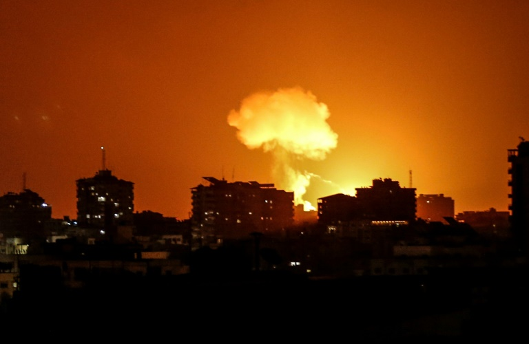 Israel Strikes Hamas Targets in Gaza over Fire Balloons