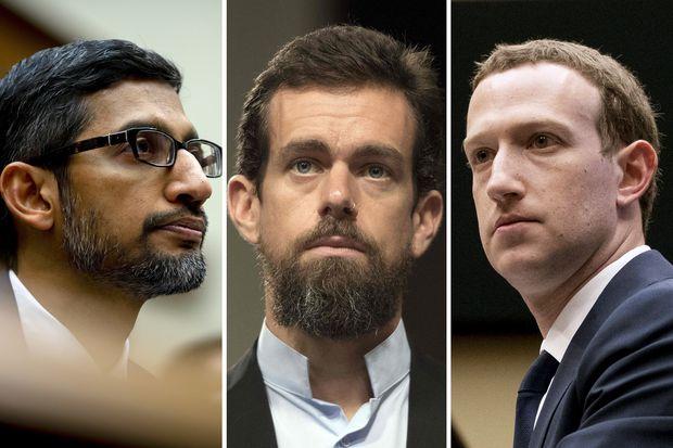 Google, Facebook and Twitter CEOs could face Senate subpoenas