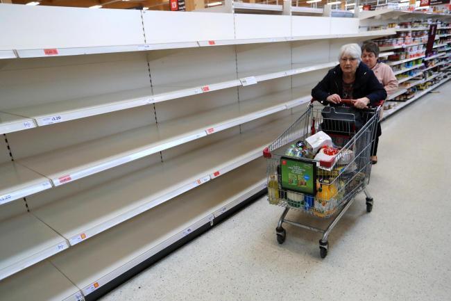 UK Food Shortage Fears Growing