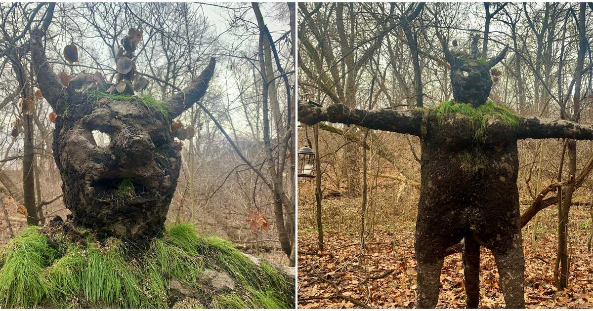 Statue Mysteriously Appears In A Toronto Park & It's Pretty Terrifying
