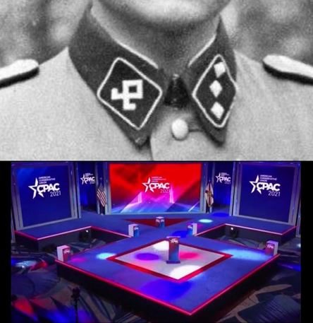 Leftists Accuse CPAC of Featuring 'Nazi Stage', Design Firm Debunks Claim