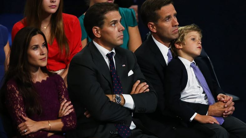 Hunter Biden Sitting With Family