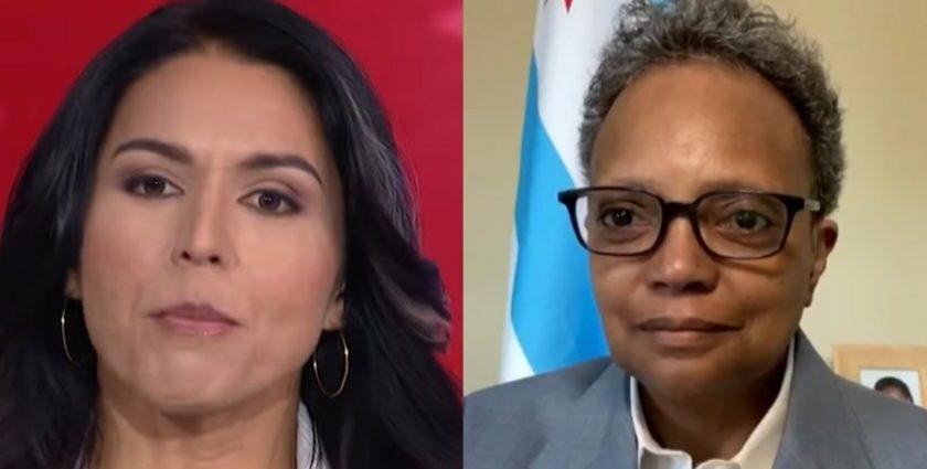 Tulsi Gabbard Demands Lori Lightfoot Resign For 'Blatant Anti-White Racism'