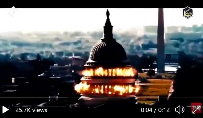Iran Threatens Attack on US Capitol Building in New Video