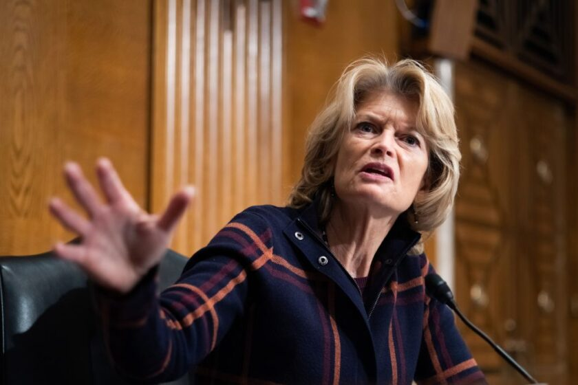 Trump Disses Murkowski as He Endorses Her Opponent in Senate Race