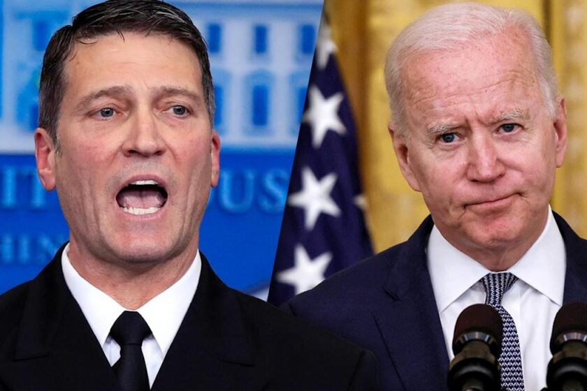 Ronny Jackson Calls for Biden to Take a Cognitive Test