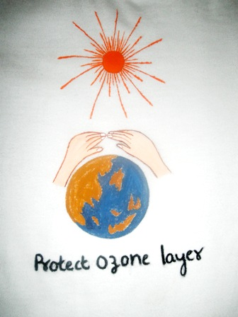 World Ozone Day Paintings