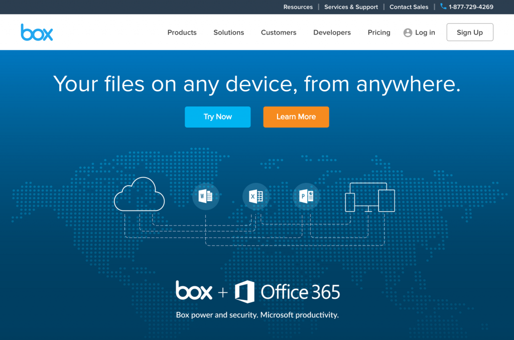 box - share file on any device