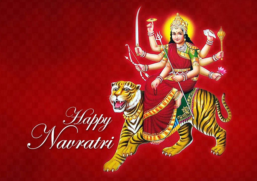 Happy Navratri 2016 Whatsapp / Facebook DP (Profile Pic)