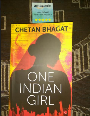 Book Review : One Indian Girl by Chetan Bhagat