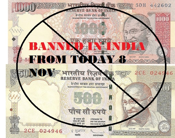 Ban on Rs. 500 and Rs. 1000 Notes In India Essay, Speech, Advantages, Disadvantages, Guide to Exchange Old Notes