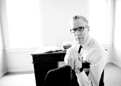 Portrait of Canadian Author Stuart McLean