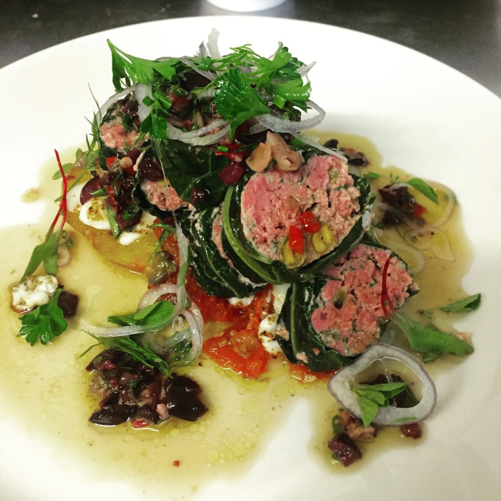 Lamb and Pistachio Stuffed Cabbage Rolls_Photo courtesy of Roost