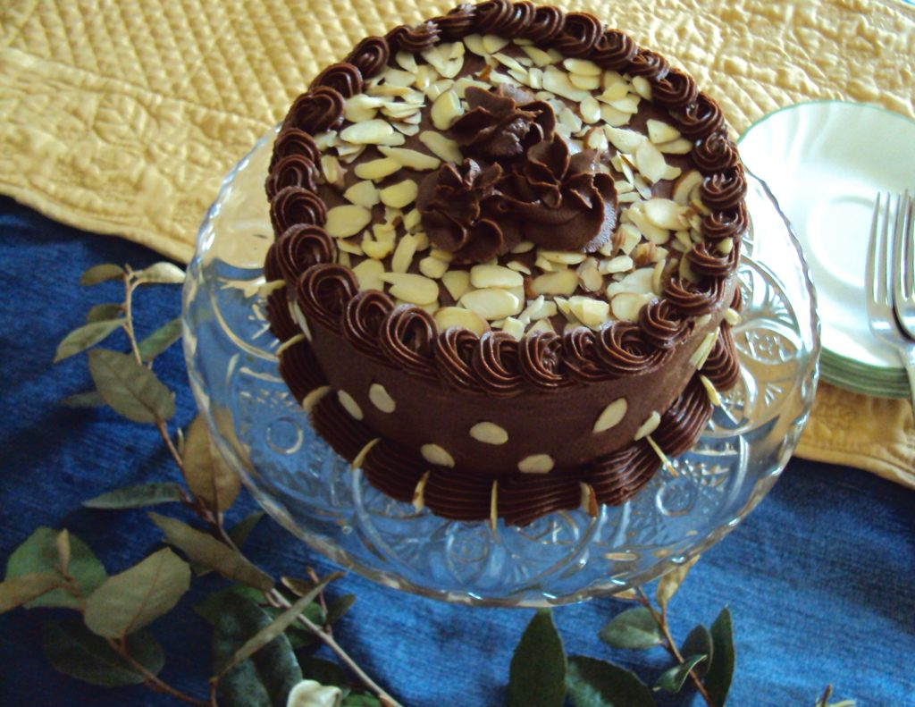 Nuts for Chocolate Cake