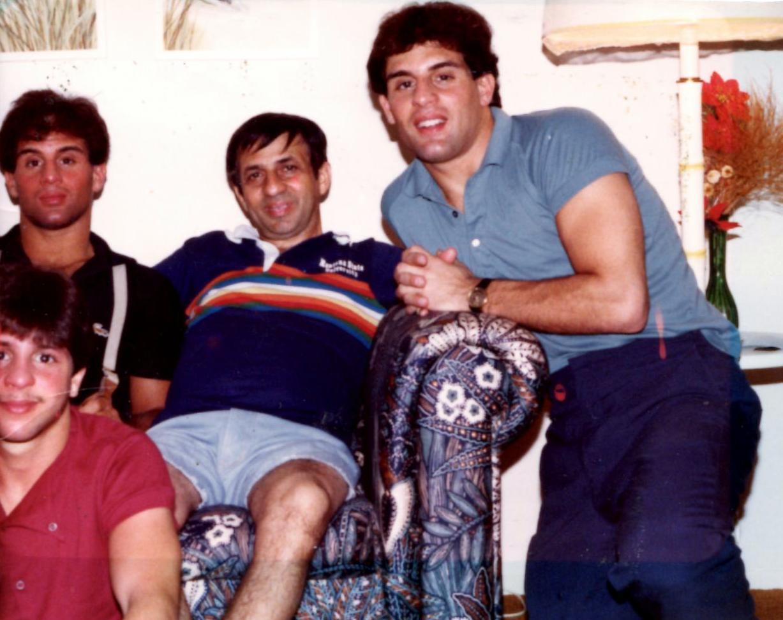The Rinaldis - Gerard, John, Joseph, and Alex