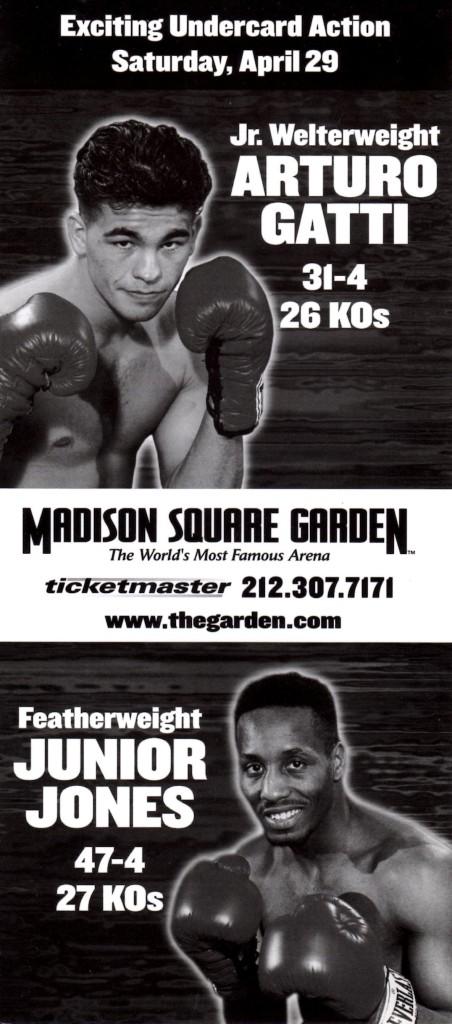 Gatti and Jones Fight Poster
