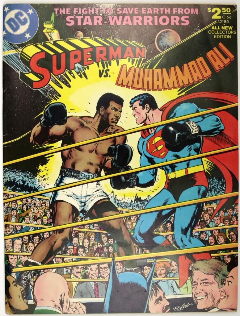 Superman vs. Muhammad Ali comic