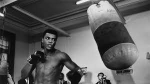 Muhammad Ali in Training