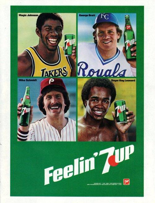 Sugar Ray Leonard 7-Up Ad