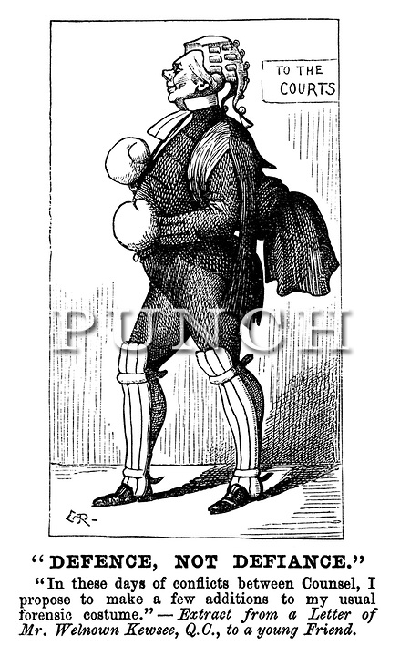 Victorian Legal Law Cartoon