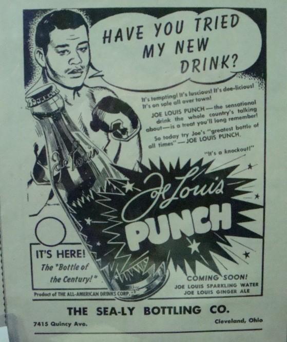 Joe Louis Punch Print Ad