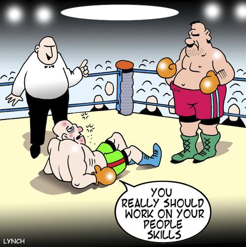 USABNWEBboxing cartoon ko