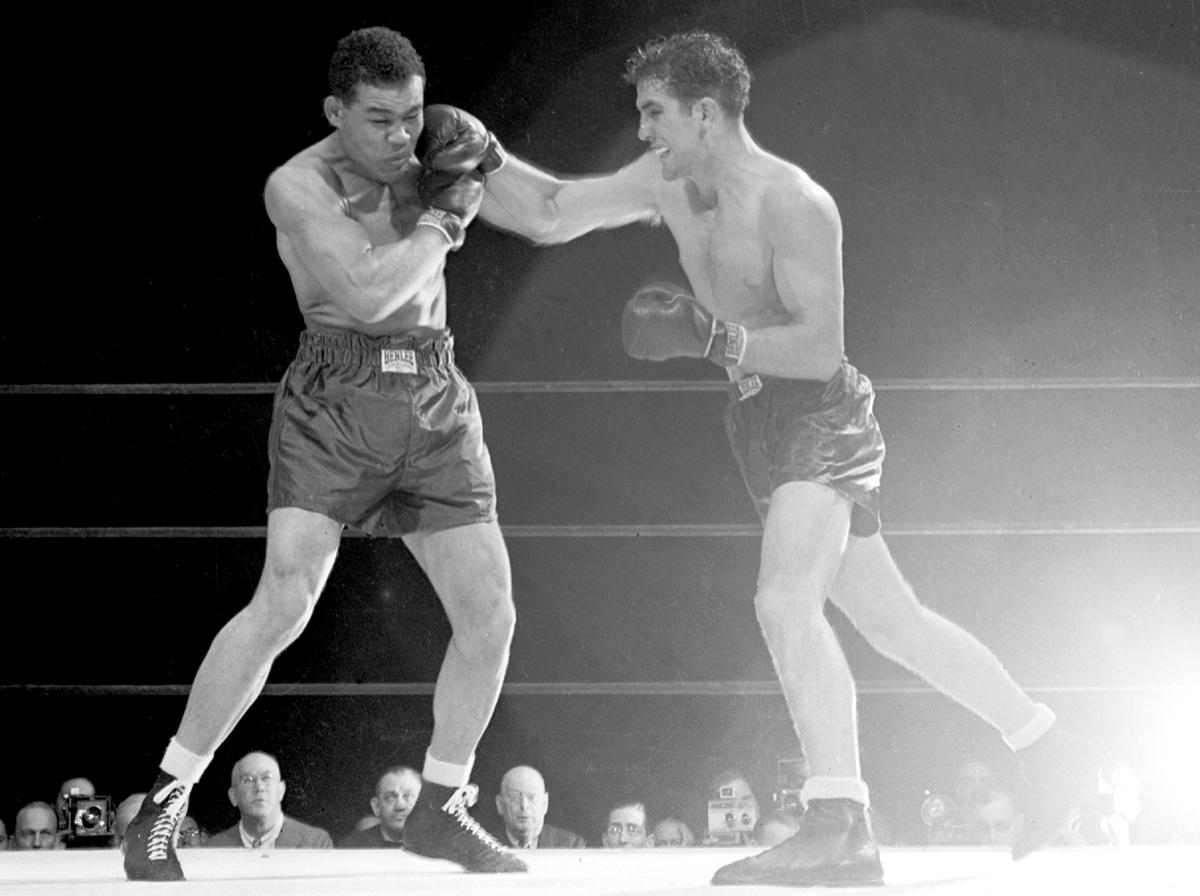 Joe Louis vs. Billy Conn I in 1941 (CLICK PHOTO TO VIEW FIGHT CLIP)