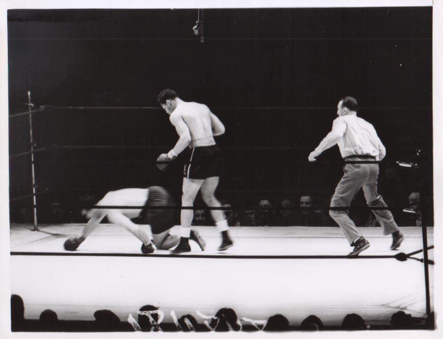 Joe Louis vs. Max Schmeling II in 1938