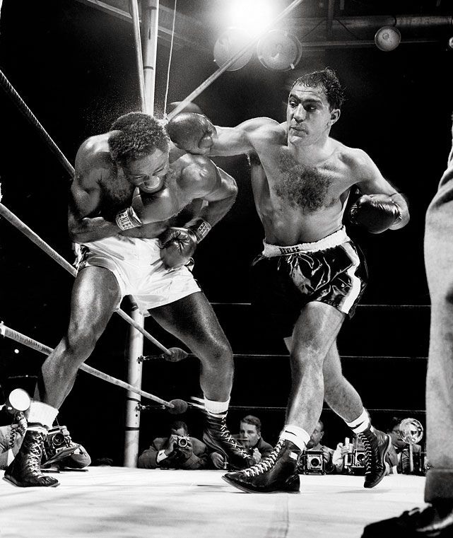 Rocky Marciano vs. Ezzard Charles II in 1954 (CLICK PHOTO TO VIEW FIGHT ACTION)
