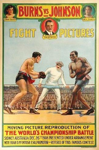 Jack Johnson vs. Tommy Burns