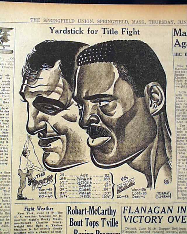 Marciano - Charles Heavyweight Championship Bout