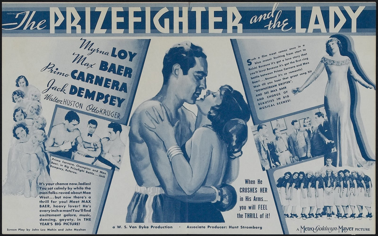 WebThe Prizefighter and the Lady Film Poster