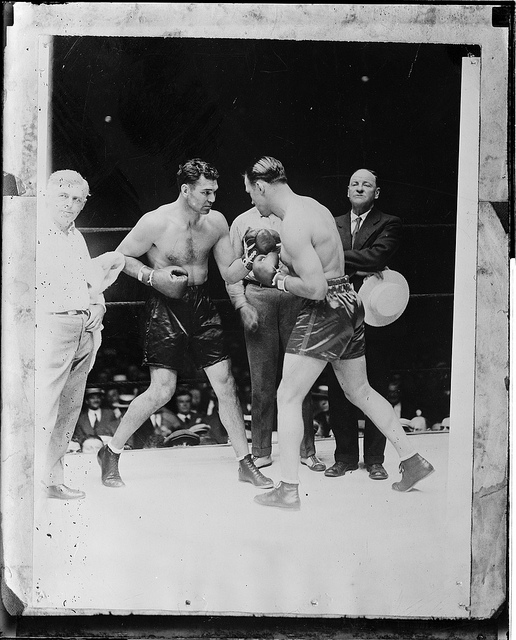 Jack Dempsey vs. jack Sharkey in 1927 (CLICK ON PHOTO TO VIEW FIGHT CLIP)