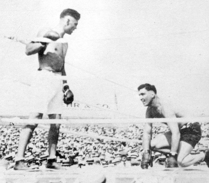 Dempsey vs. Willard in 1919 (CLICK ON PHOT TO VIEW FIGHT CLIP)