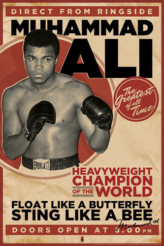 boxing poster#14