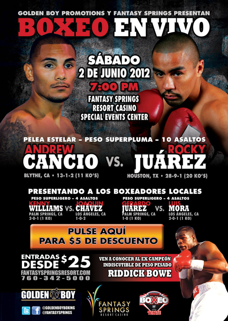boxing poster#34