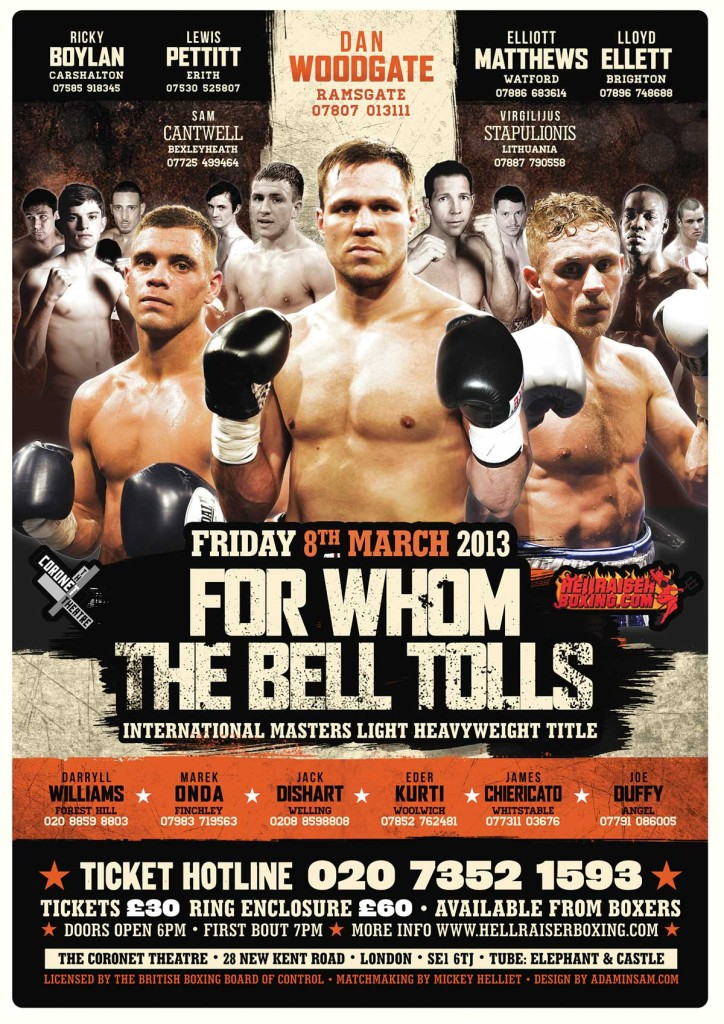 boxing poster#36