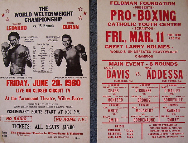 boxing poster#4